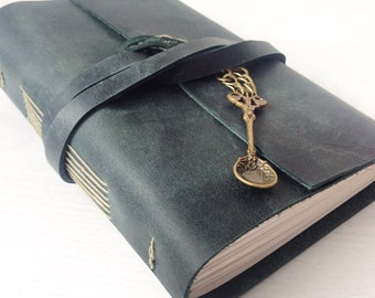 recipe book recipe journal recipe notebook custom made wspoon charm - Best Gift For A Chef