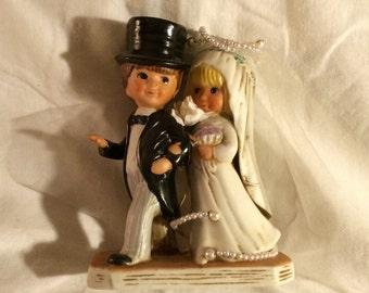 Fran Mar Moppets Wedding Figurine
