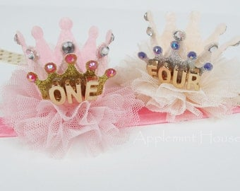 Birthday Girl Crown /First Birthday Party Crown /Birthday Baby Crown /Princess crown/Party crown/Personalized Crown