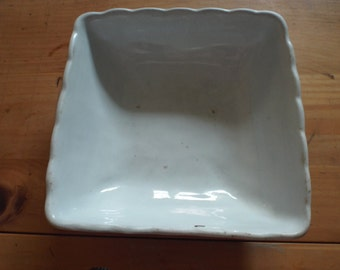 J. & G. Meakin Handley Ironstone square vegetable bowl
