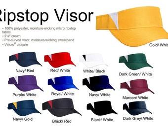 Blank Ripstop Visor Hat