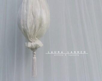 Wedding Purse, Light Ivory Bridal Clutch, Ivory / White Bridal Purse, Natural White Ivory Wedding Clutch, Chiffon Purse, Natural Wedding Bag