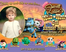 Sheriff Callie Invitation, Sheriff Callie Birthday Party