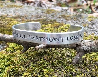 Clear eyes full hearts cant lose! | friday night lights inspired bracelet | custom bracelet for her | texas forever
