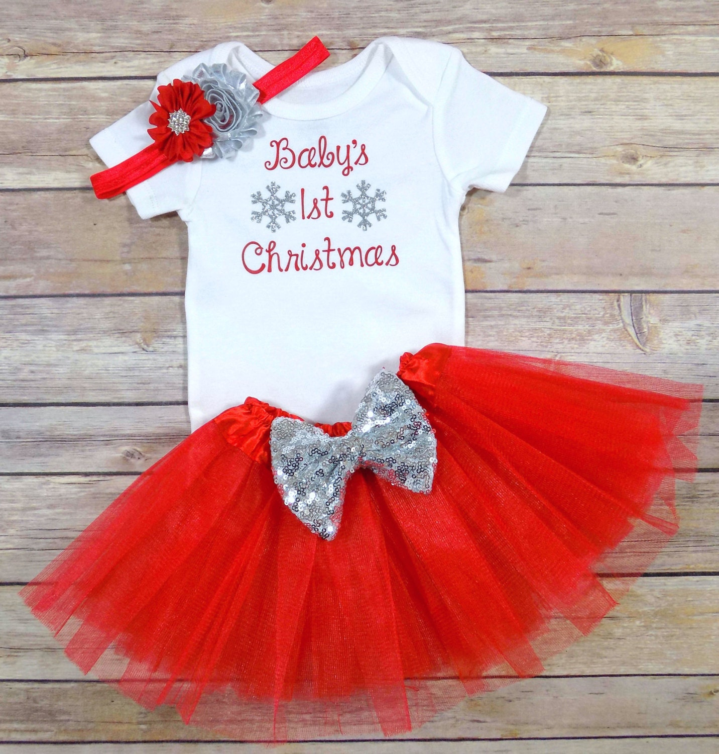 baby girls first Christmas baby girls first by
