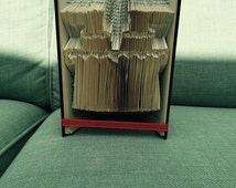 PATTERN #376 Santa stuck in the chimney book folding pattern. 268 folds