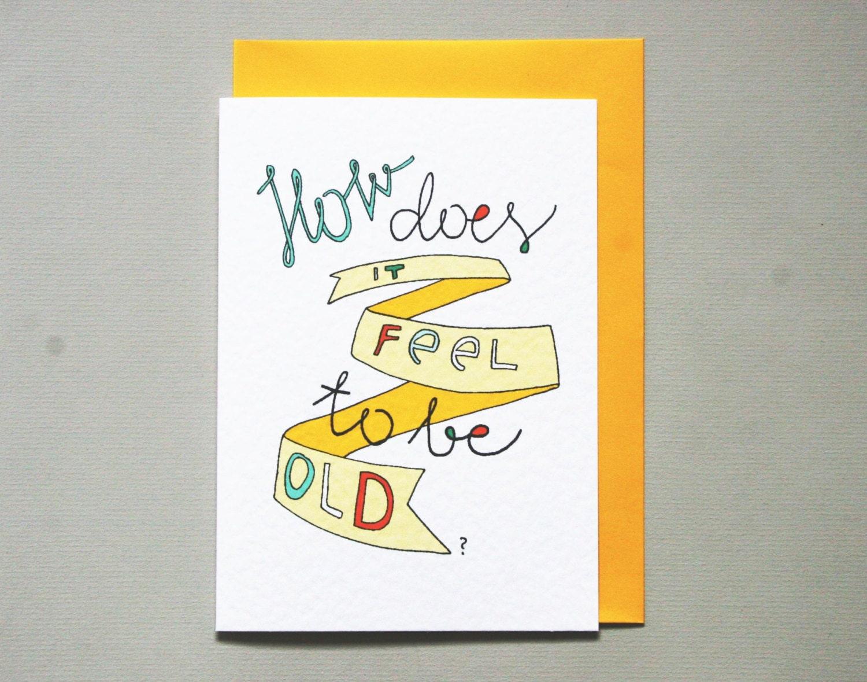 rude birthday card  etsy, Birthday card