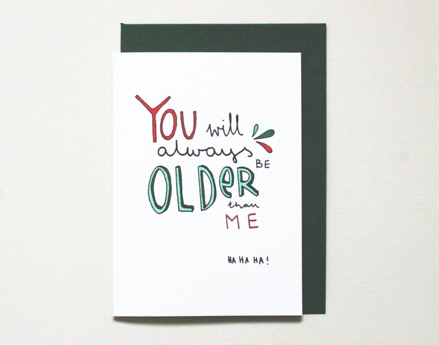 Birthday card funny birthday card older brother sister – Birthday Card for Brother from Sister