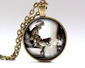 Europe necklace Paris pendant France chain RO667