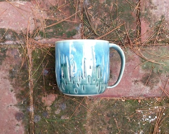 Rain Ceramic Coffee Mug