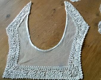 Edwardian lace collar