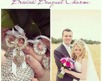 Bridal Bouquet charm pendant