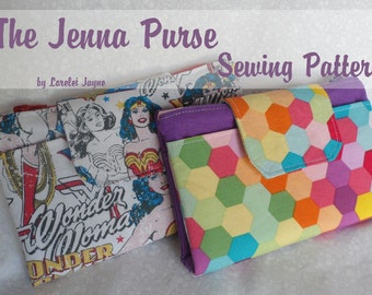 Jenna Purse PDF Sewing pattern