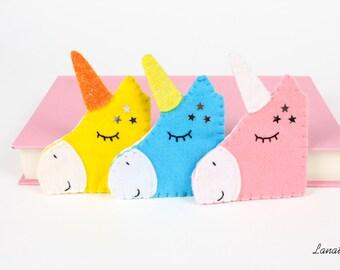 CREATE YOUR own UNICORN! Choose among a lot of felt and sprinkles colours! Custom unicorn
