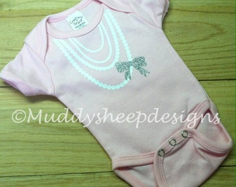 Baby Pearl Necklace One Piece