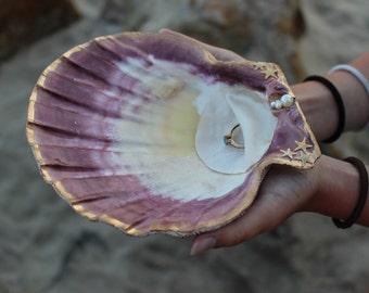 Ring Bearer Shell- Beach Wedding