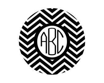 Chevron Monogram SVG, DXF Files for Cricut Design Space, Silhouette Studio, Die Cut Machines, Instant Download of svg, dxf, & jpg
