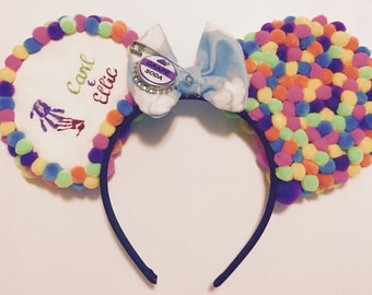 Disney's UP Inspired Minnie Mickey Ears (Carl and Ellie Mailbox)