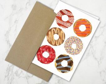 Half Dozen Donuts – Stationery Card