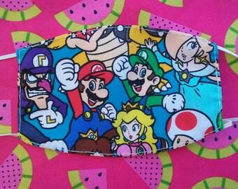 Super Mario Face Mask!