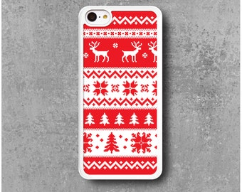 iPhone 5C case Winter Deer Christmas + Free Worldwide Delivery