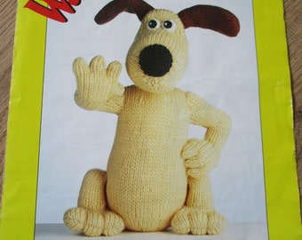 Gromit the Dog Knitting Pattern (From Wallace & Gromit) - Original Pattern