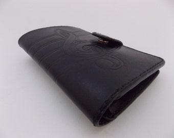 "Handmade  leather wallet  ""Musicians"""