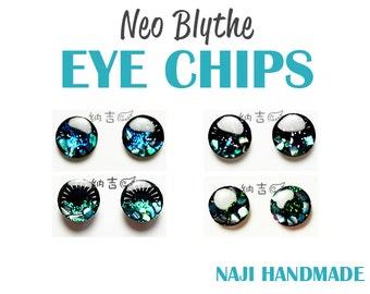 Blythe eye chips brilliant MICA super full pupil shinning - [NAJI810 HANDMADE]