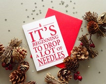 Cute christmas card - funny - happy xmas - holidays card - festive - happy christmas card - seasons greetings - greeting card - card for her