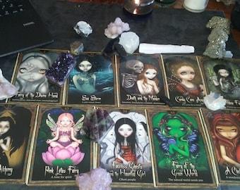 Goddess Morrigan Reading~Messages from goddess Morrighan~The Morgana goddess Spread~