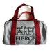 and though she be but little Duffel Bag. She Squats Clothing™ Workout gym Bag. She Squats Clothing™ Gym Bag. Womens Workout gym Bag. Gym Bag