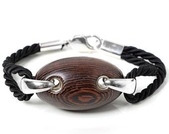 exotic wood bracelet, wenge bracelet, big bracelet, wood bracelet, fashion big bracelet,