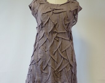 Winter sale. Amazing delicate plum colour blouse, M size. Boho and feminine style.