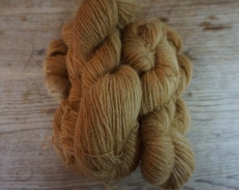 Icelandic pure wool, hand dyed with Parmelia Saxatilis 23052016-1