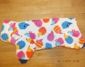 "The onesie ""Hedgehogs fleece"" for Sphynx Cat - Cat/Dog Clothes"