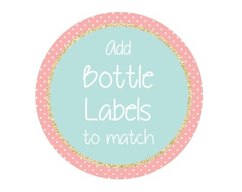 Drink Bottle Label Personalised Add-On