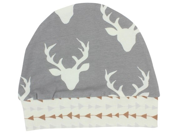 Buck Deer Boy Baby Beanie Hat Unisex Baby Beanie Baby Leggings Baby Newborn Deer Beanie Toddler Slouch Beanie Baby Boy Baby Shower Gift