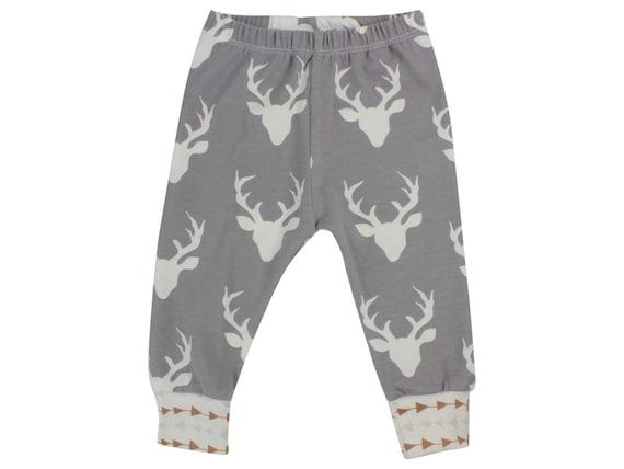 Buck Deer Baby Leggings Boy Leggings Boy Leggings Girl or Boy Baby Leggings Unisex Leggings Toddler Pants Deer Unisex Baby Clothing