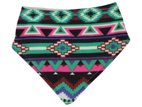 Sweater Tribal Aztec Bandana Bib Bibdana Baby Bib Drool Bib Girl Bib Girly Tribal Bib Tribal Bibdana Organic Bamboo Baby Terry Toddler Bib