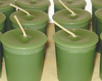 6 Pack of Bayberry 15 hr Votive Candles