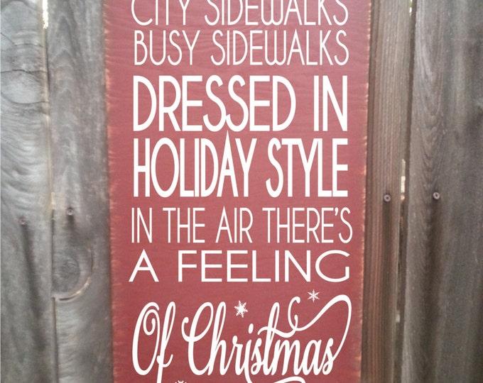 Christmas decor, Christmas decoration, Bing Crosby song, silver bells, silver bells sign, Christmas wall decor, Christmas sign, 160