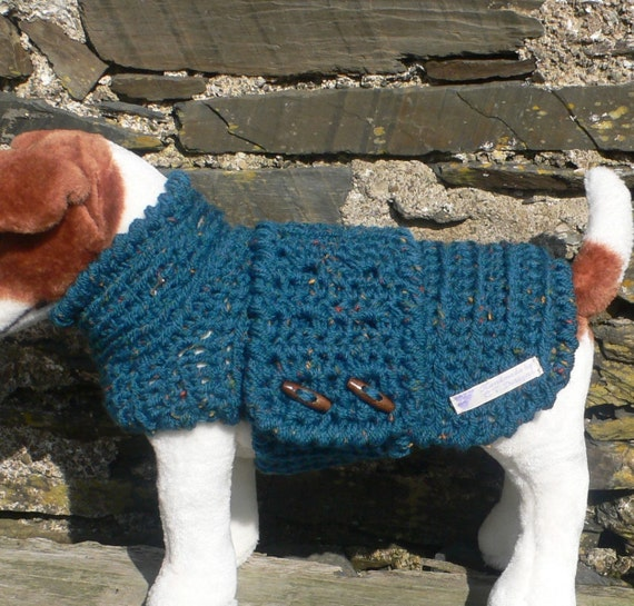 Free Easy Knitting Patterns For Medium Dog Jumpers : Medium Dog Clothes Dog Sweater Dog Sweaters Crochet Dog