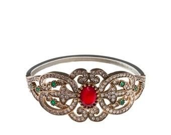 Authentic Ottoman style sterling silver bracelet ZB5015