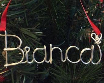 Bianca ornament