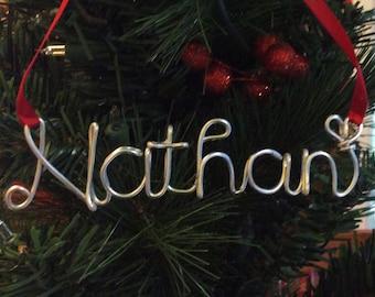 Nathan ornament