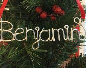 Benjamin ornament