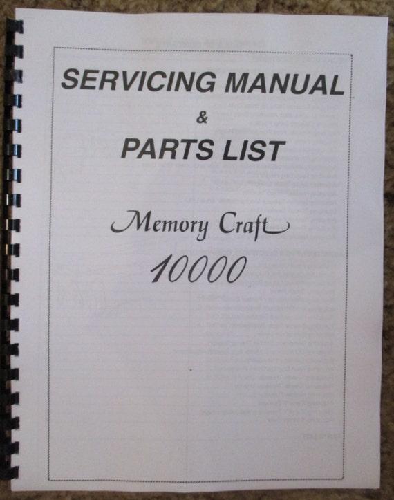 janome memory craft 3000 manual
