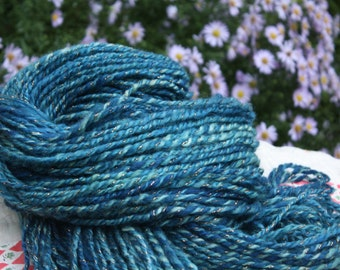 The Flash Gorgeous // Handspun yarn