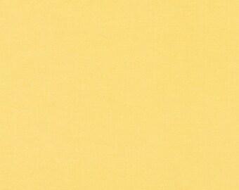 Robert Kaufman Kona Solids Buttercup (Half metre)