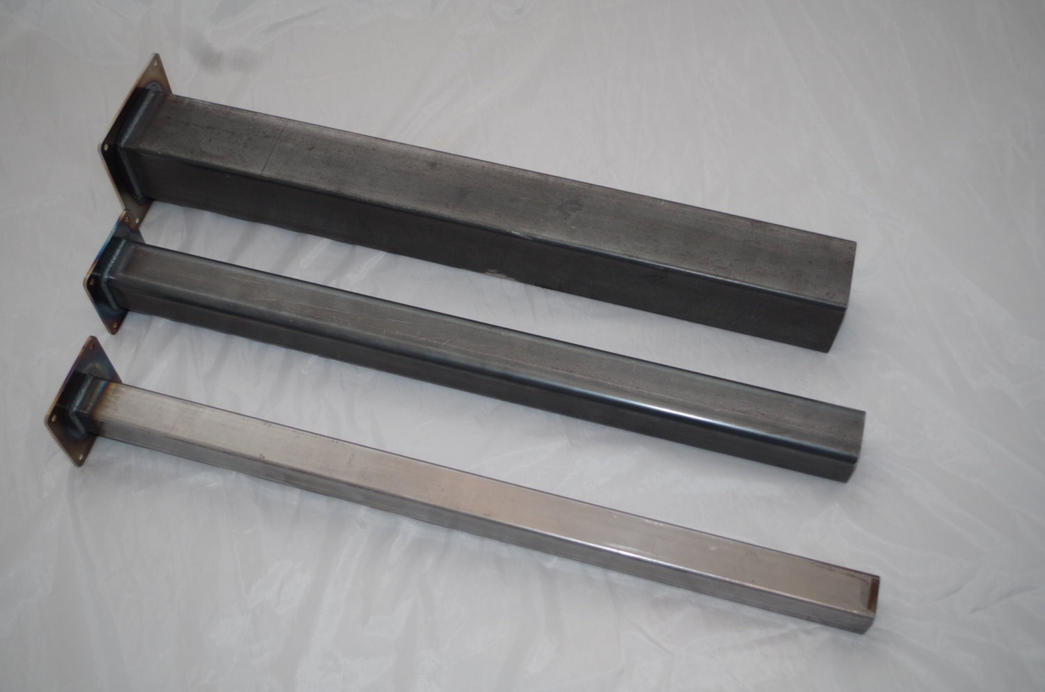 3 Square Steel Furniture Leg Any Height